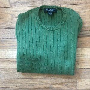 ⬇️55 Brooks Brothers Sea Island Cotton Sweater XL